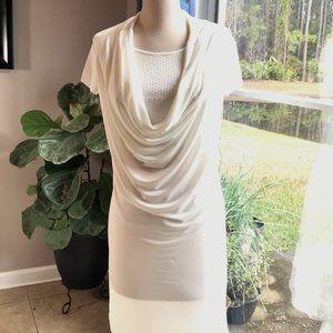 Isabella Rodriguez Ivory Sheath Dress Size 6